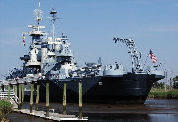 Visit the uss_north_carolina battleship in Wilmington NC